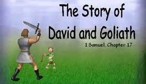 The David and Goliath story